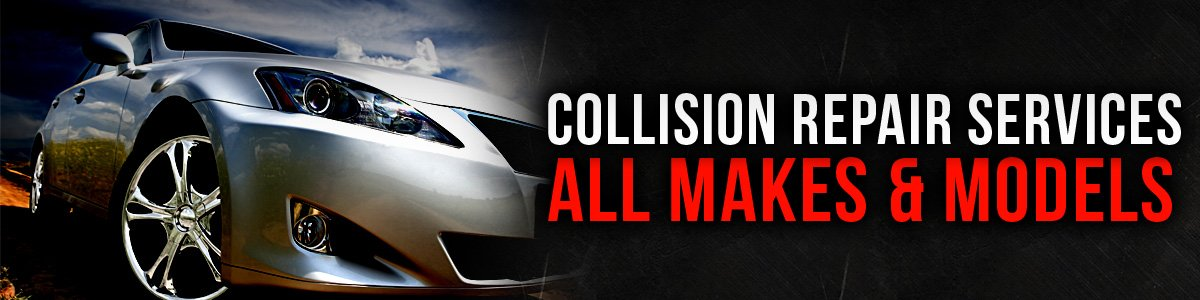 Collision repair services for all makes and models