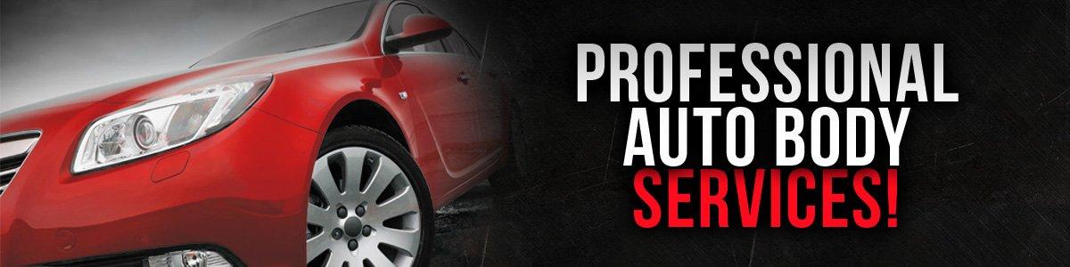 Professional auto body services