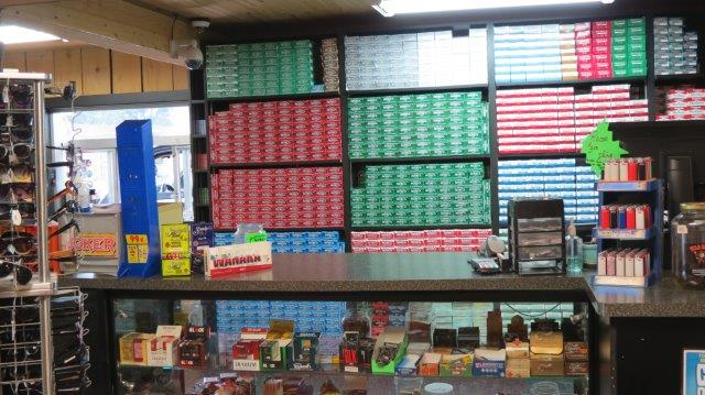 we carry all of your favorite native brand cigarettes