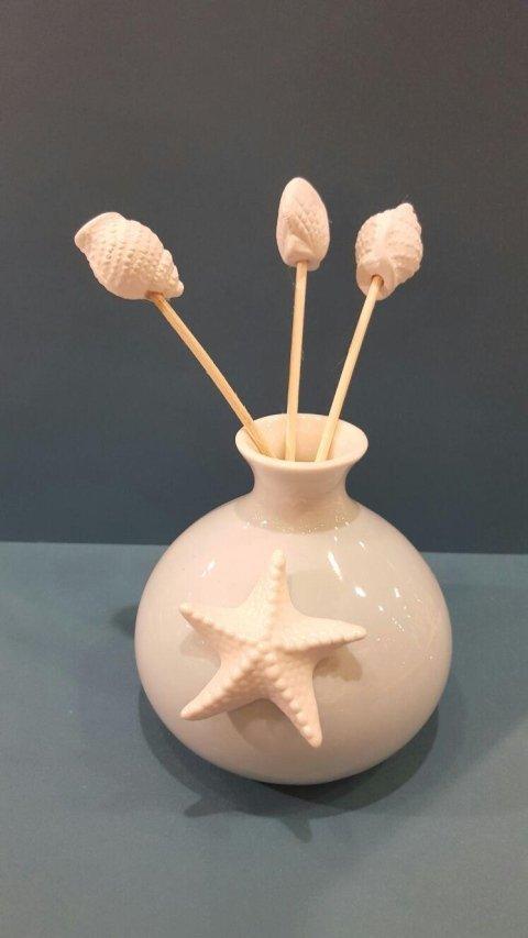 Diffusore Ceramica con Stella Marina Claraluna