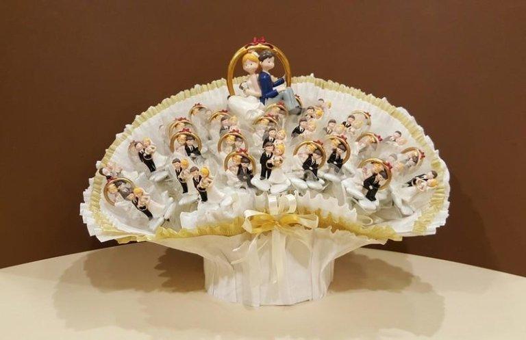 Composizione Bouquet Sposi