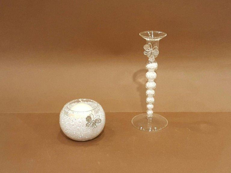 P.candele con graniglia vetro
