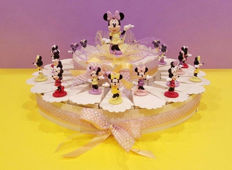 Composizine Torta Disney