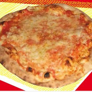 pizza al piatto, pizza margherita