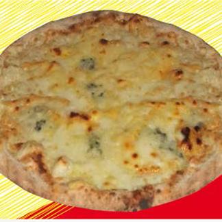 pizza con il gorogonzola