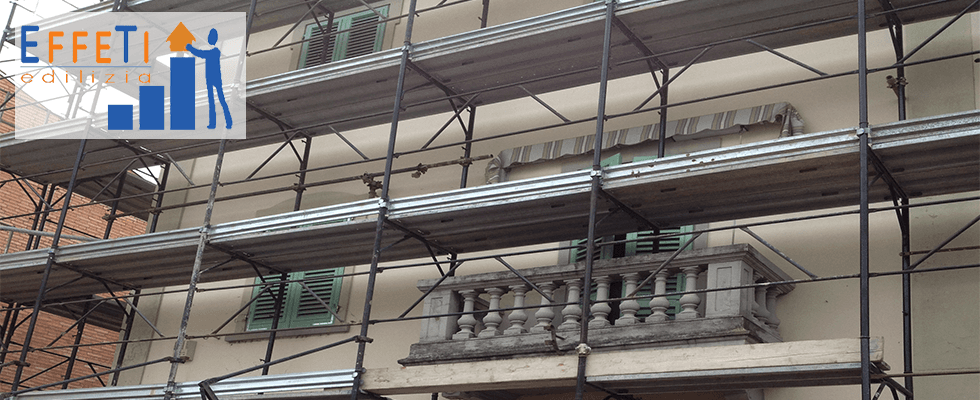restauro e rifacimento facciate