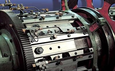 replacement parts for industrial machinery