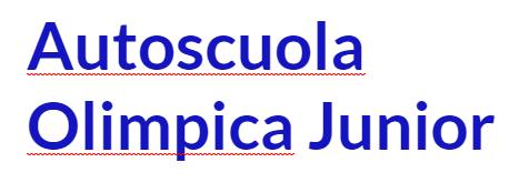 Autoscuola Olimpica Junior - LOGO