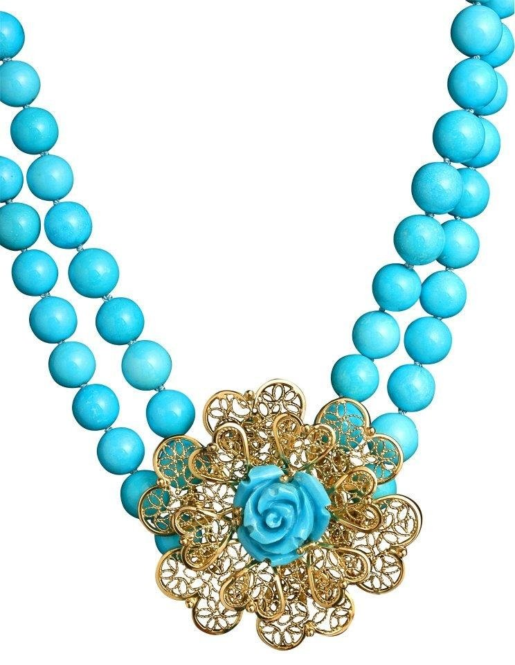 collana di turchese