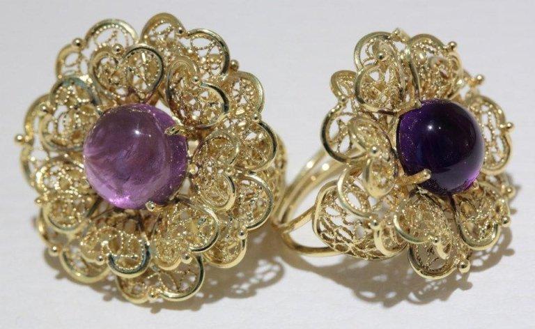 anelli in filigrana