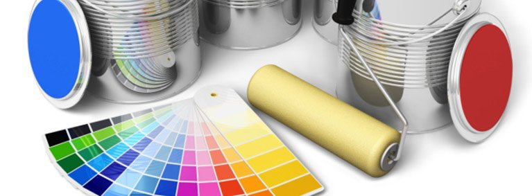 brilliance painting services colour palette paint tin