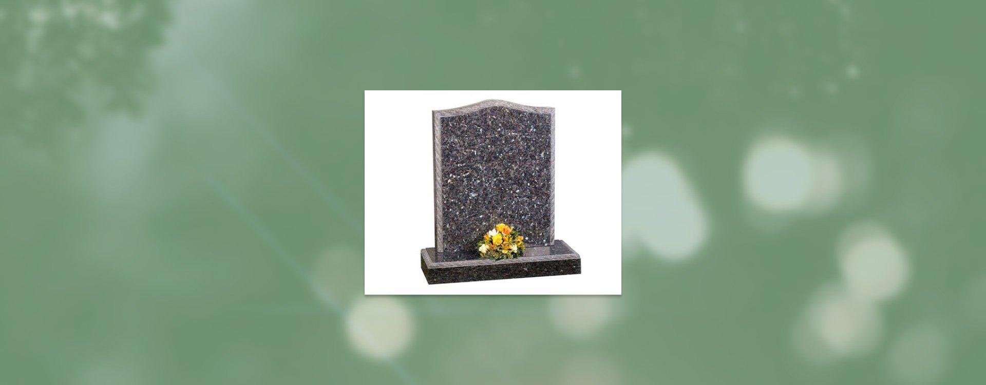 grey tomb stone