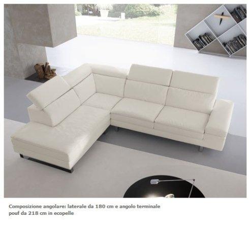salotto, divani in pelle