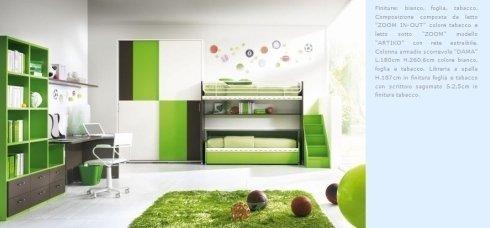 rredamenti camerette, design moderno