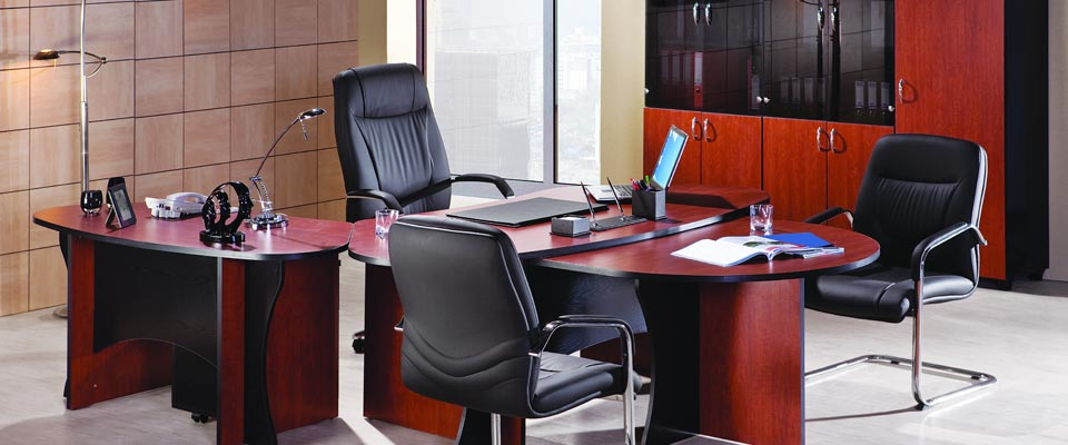 View of the office furniture in Erlanger