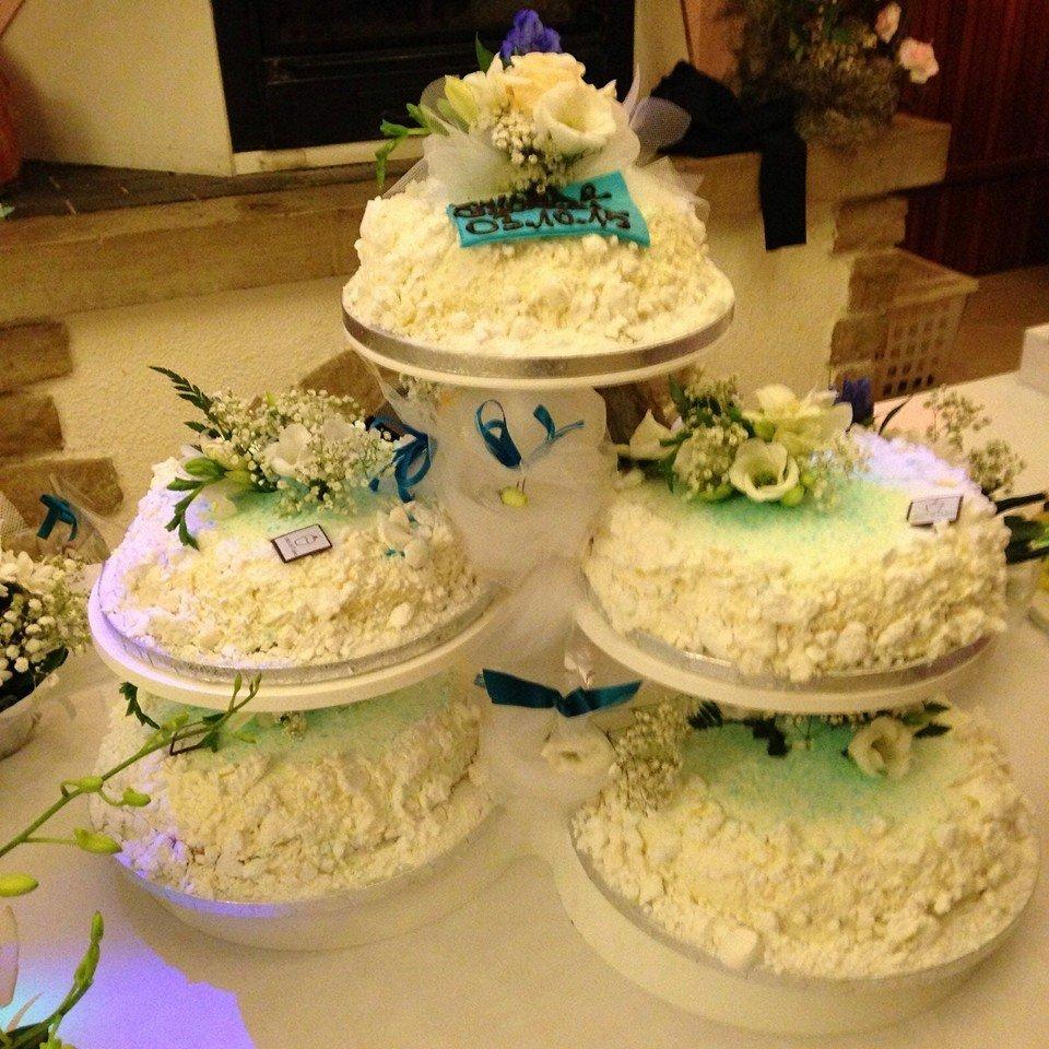 delle torte di meringa