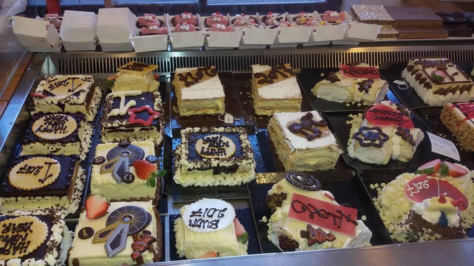 delle torte di vario genere