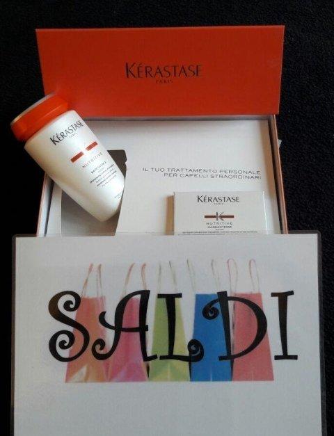 Cofanetto maschera + shampoo linea nutritive Kèrastase per capelli normali e secchi solo 35 €