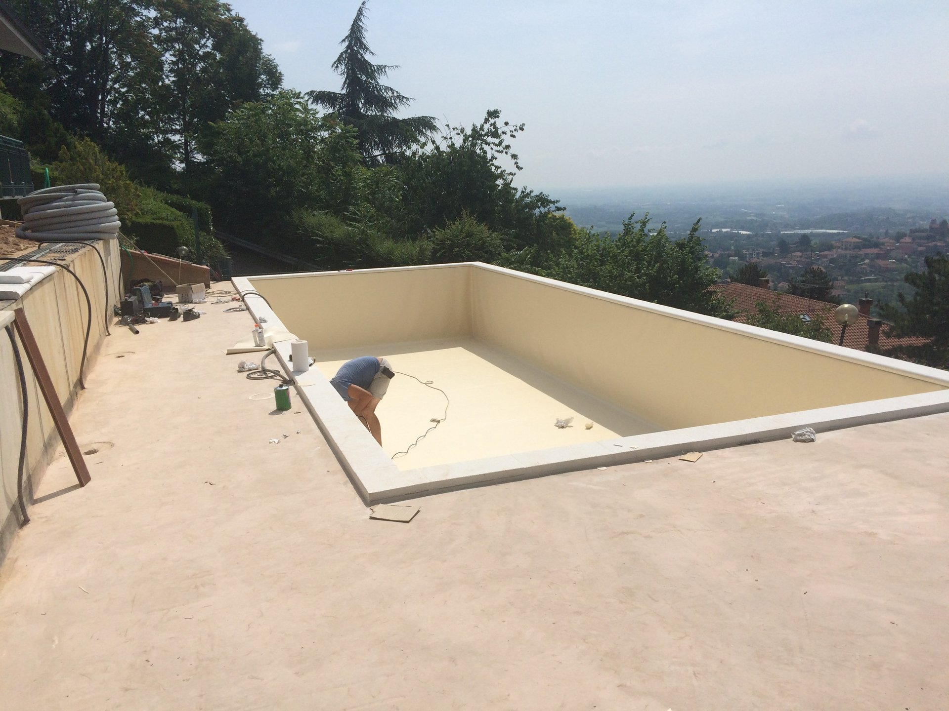progettazione piscine interrate