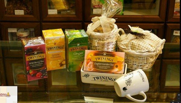 diversi tipi di tè-marchio twilings