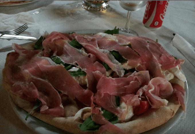 pizza con il curdo