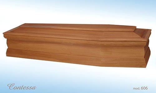 fornitura di bare in vero legno
