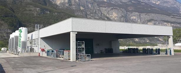 Atesina Gas Filling Station Trento