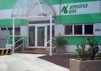 Atesina gas ingresso