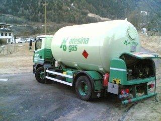 Tanklastwagen für den LPG-Transport