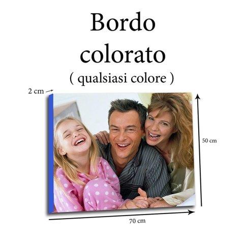 tela canvas bordi colorato