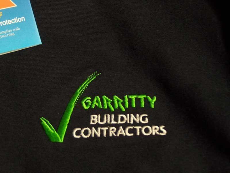 garritty building contractors screen printing