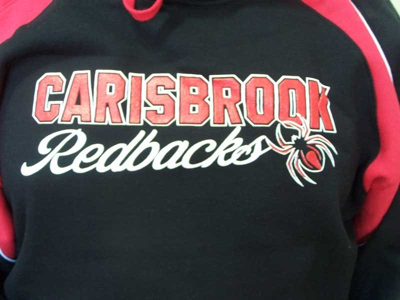 carisbrook redbacks shirt screen printing