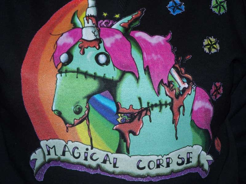 magical corpse shirt screen printing