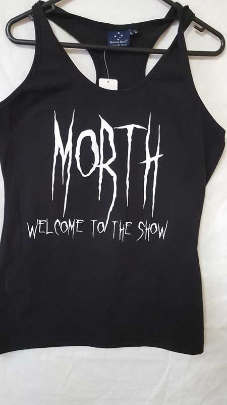 morth tank top screen printing
