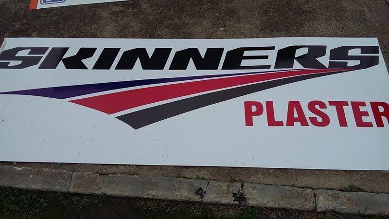 skinners plaster sign