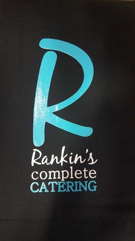 rankin's complete catering screen printing