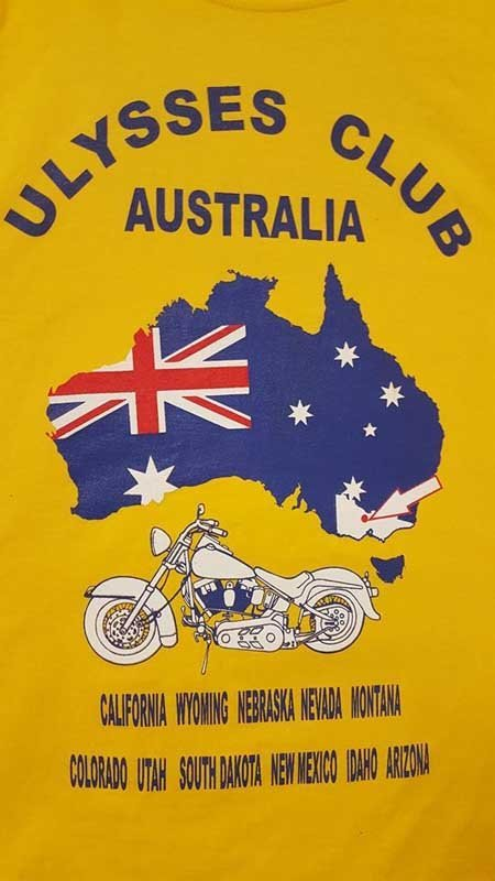 ulysses club australia screen printing