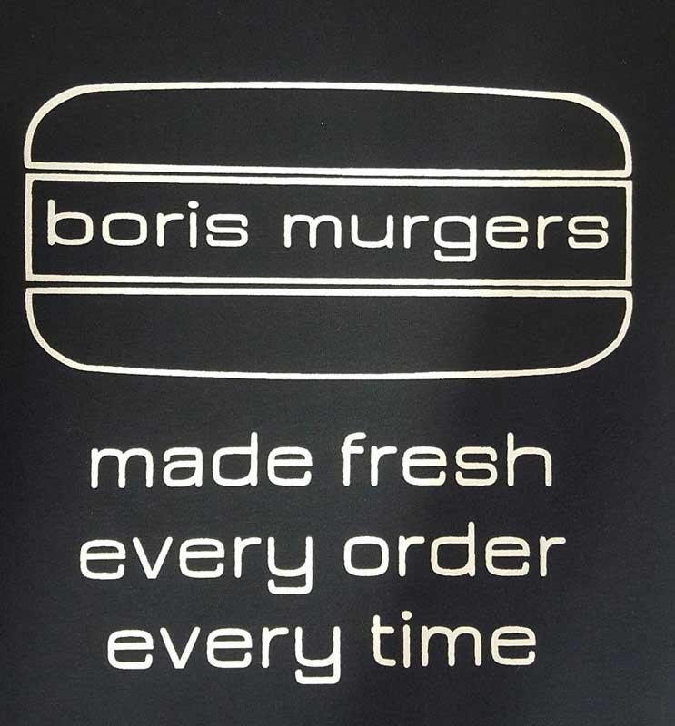 boris murgers logo screen printing