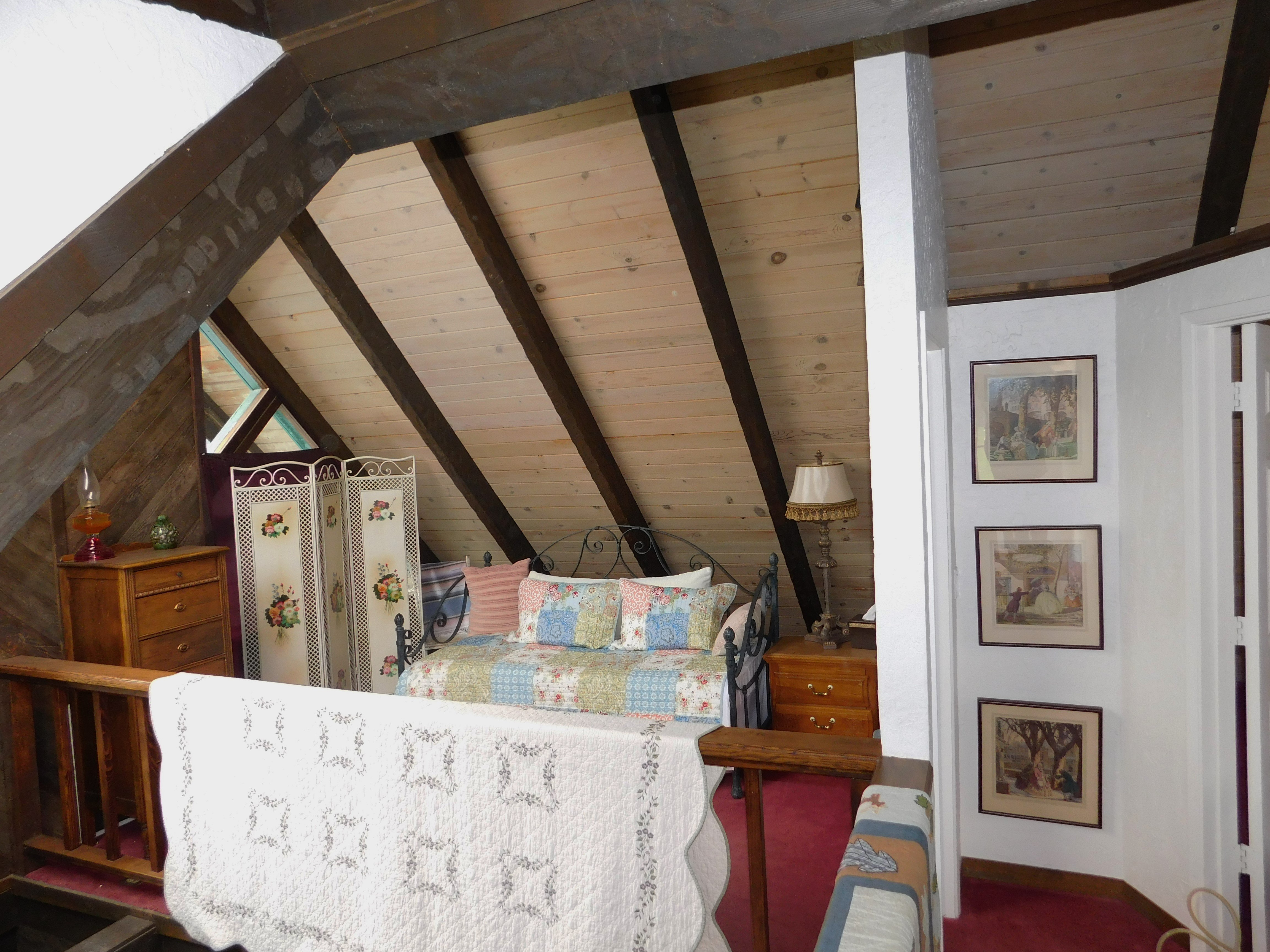 Additional Double Bed in the Main Lodge
