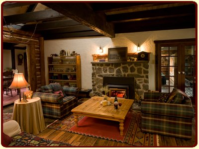 Cozy, warm, inviting lodge at The Davies Family Inn