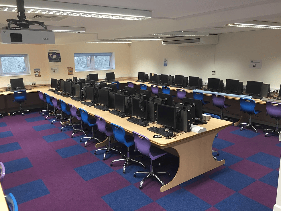 learning centre carpeted flooring