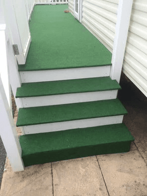 custom grass carpet