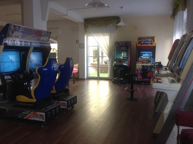 sala giochi hotel