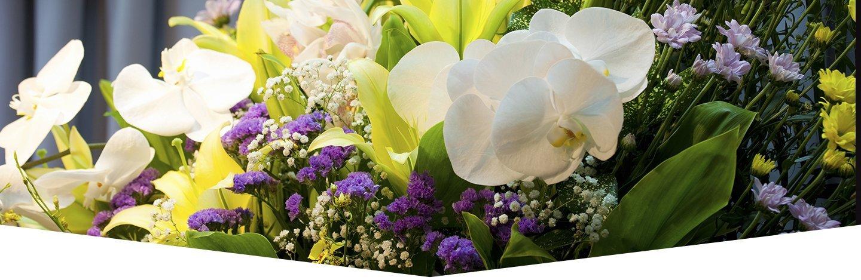 fiori per addobbi funebri