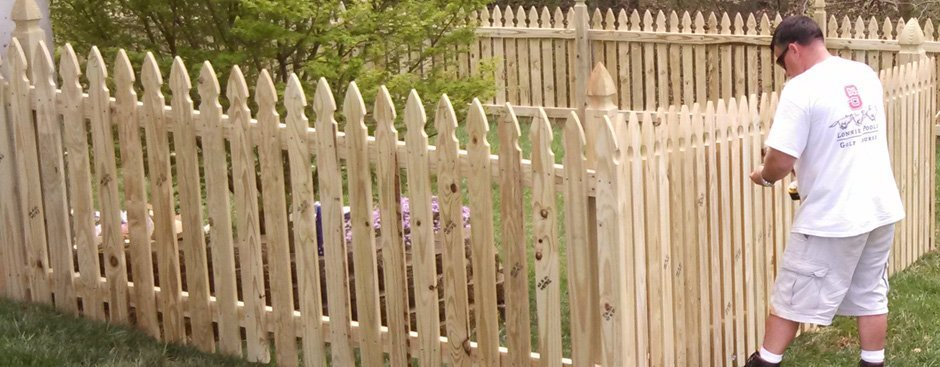 fence repair services as well as installation