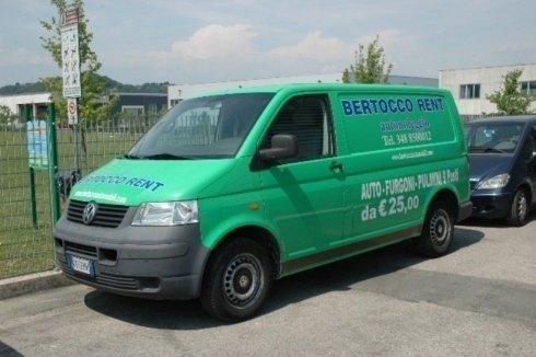 furgone volkswagen verde