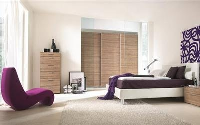 ampia camera da letto per coppia