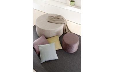 puff e complementi d'aredo per divani e soggiorni