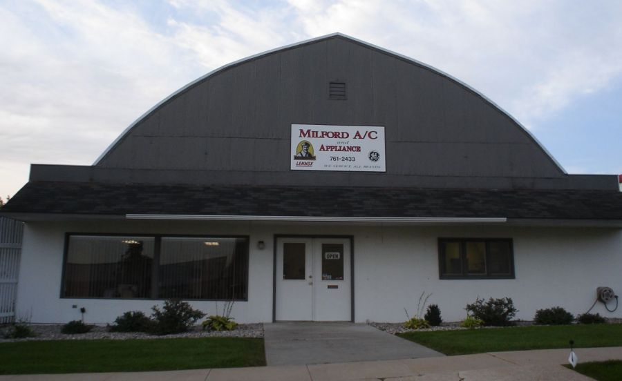 Family satisfied with heating and air conditioning services in Milford, NE