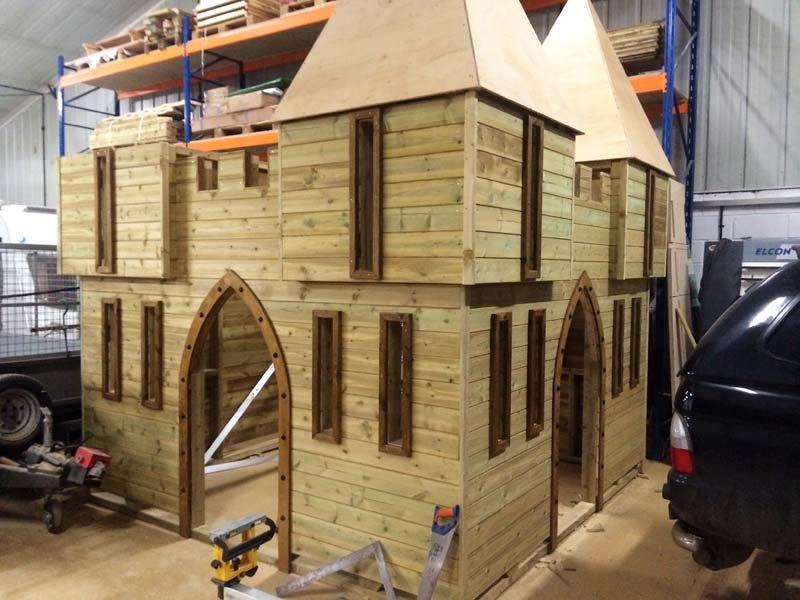 castle design building